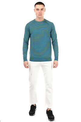RRP €175 ROBERTO COLLINA Jumper Size 52 / XL Merino Wool Blend Made in Italy