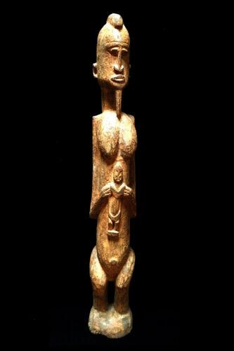 Antique Vintage Mali Africa Dogon Female Figure sculpture 507