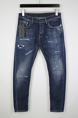 FRANKIE MORELLO FMCF8090JE LITTLE Men's W32 Ripped Slim Fit Jeans 39138_ES