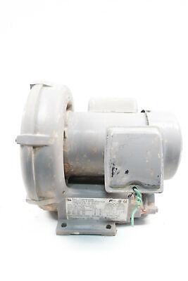 Fuji Electric Vfc200p-5t Regenerative Blower 42cfm 1ph 1in 0.37hp 115230v-ac