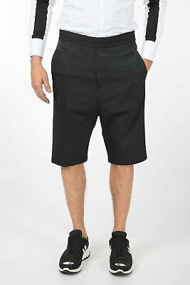 NEIL BARRETT men Trousers 48 IT Dropped Fit Drawstring Shorts Pants Bermuda ...