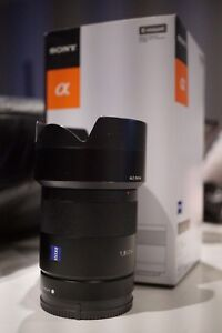 Sony Zeiss 28mm 1.8 E-Mount Wide Angle Lens