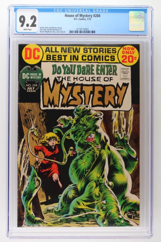 House of Mystery #204 - DC 1972 CGC 9.2