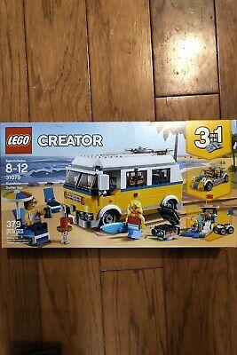LEGO Creator 2018 Sunshine Surfer Van (31079). NISB. Mint! Free + Fast Ship!