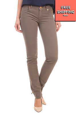 RRP €135 SIVIGLIA Trousers Size 27 Stretch Garment Dye Zip Fly Made in Italy