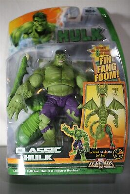 Marvel Legends King Hulk Fin Fang Foom Series MOC Hasbro 2007