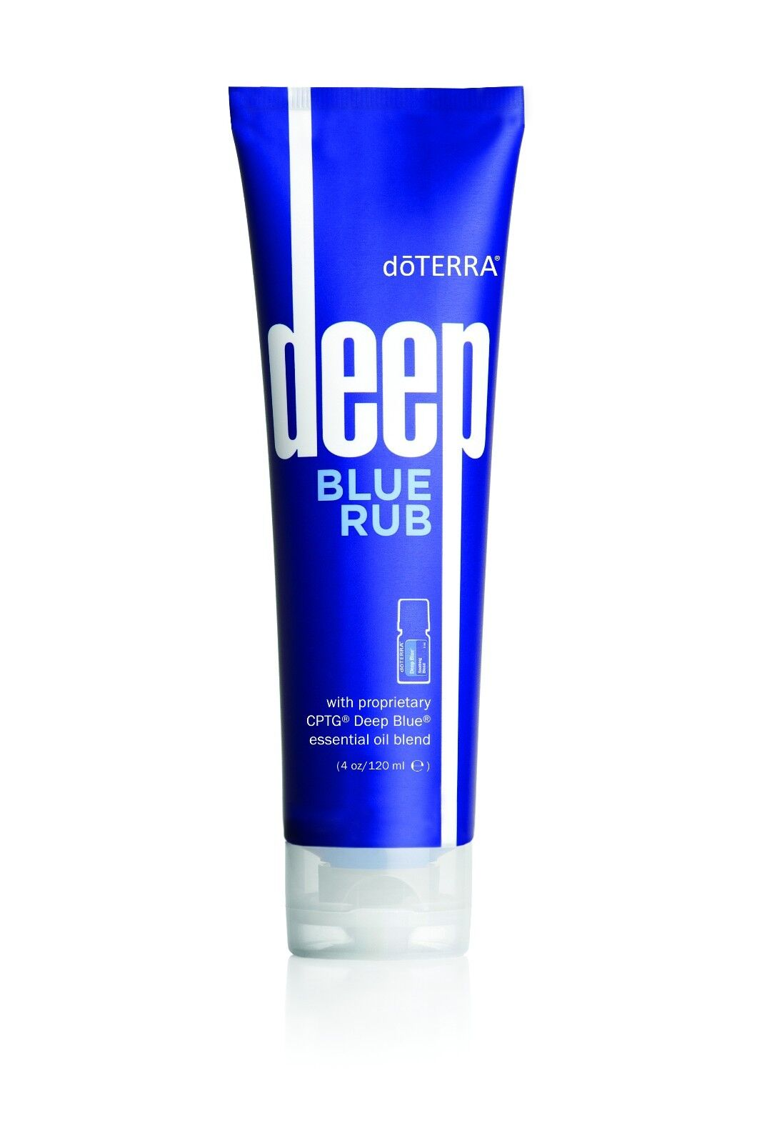 BRAND NEW doTERRA Deep Blue Rub 4 oz tube - EXP: 01/2021 - Fast FREE Shipping!