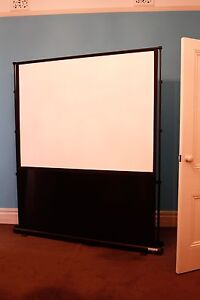 PROJECTOR SCREEN PORTABLE HIGH QUALITY Wembley Cambridge Area Preview