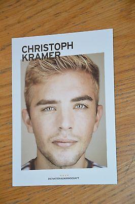 Christoph Kramer Nationalspieler WM 2014 unsigniert
