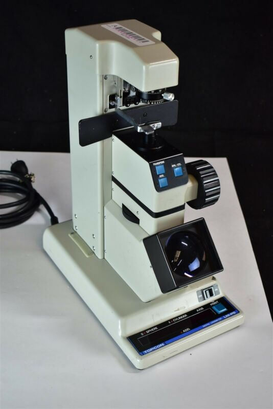 Topcon LM-P5 Lensometer Lensmeter Focimeter Vertometer Ophthalmic Instrument