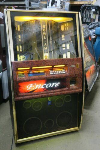 Sharp Rowe AMI Encore Commercial Coin Operated 100 CD Jukebox