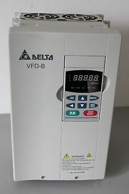 1pc New Delta Vfd075b23a 3ph 0-240v 33a 400hz Vfd-b 7.5kw 10hp Free Shipping