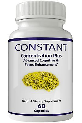 Constant Concentration Plus Supplement - Advanced IQ Brain Supplement - Mind ... 1