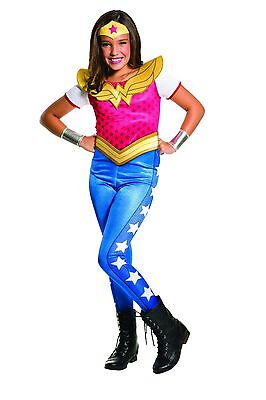 Rubies Wonder Woman DC Comics Hero Child Kids Girls Halloween Costume - Wonder Woman Halloween Costume Kids