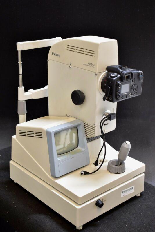 Canon CR-Dgi Retinal Retina Camera Fundus Non-Mydriatic Medical Optometry Unit