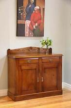Cedar Antique Edwardian Carved Sideboard / Buffet Rustic Vintage Williamstown Hobsons Bay Area Preview