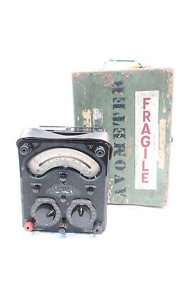 Avo Model 8 Avometer 0-100v