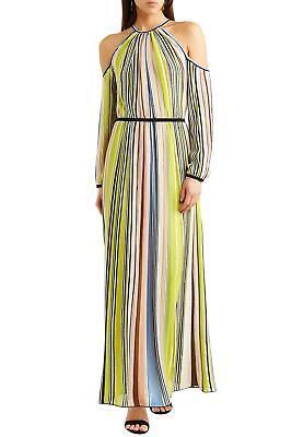 MISSONI NWT Striped Knit Cold Shoulder Maxi Dress Size 40 - 4