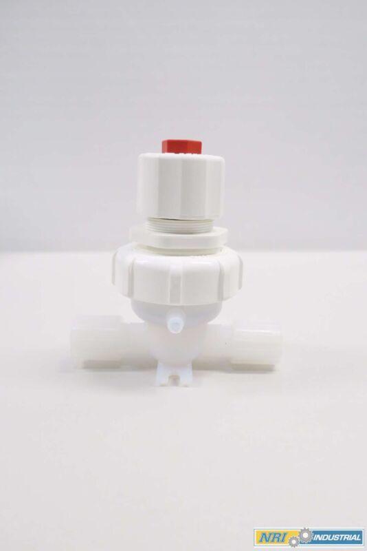 Fluoroware 201-42-01 Pvc Diaphragm Valve 1/2 In