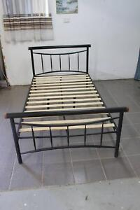 King Single metal Bed  very good condition Burpengary Caboolture Area Preview