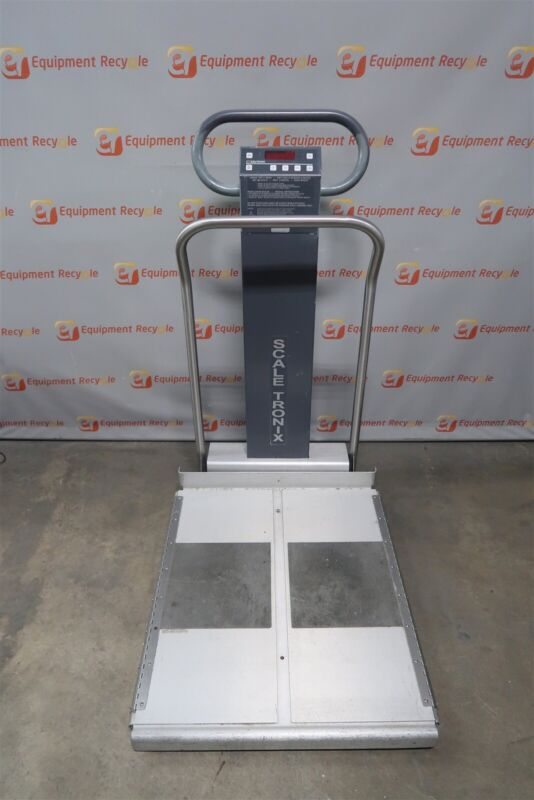 Scale tronix 6702 Portable Bariatric Wheelchair Scale Weight Weigh 800lb