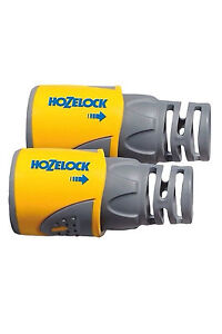 Hozelock 2050 hose end water pipe connector plus 2pk