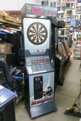 Sharp Scorpion 9000 Commercial Coin Operated Dartboard #3
