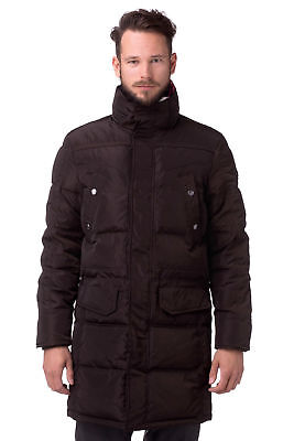 CERRUTI Parka Jacket detachable hood 🌍 Size 52 🌎 RRP £450+📮WORLDWIDE FREEPOST
