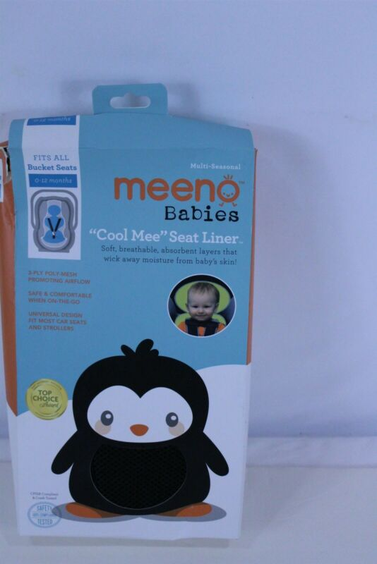Cool Mee - Bucket Seat Liner - 0-12 Months - Jet Black
