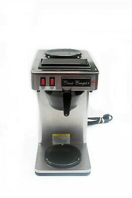 Classic Concepts Gb260 Stainless Commercial Coffee Brewer Pour-over 12 Cup - New