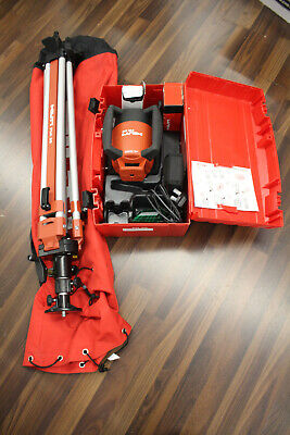 Hilti Pr26 Rotating Self Leveling Laser With Hilti Pua 32 Tripod Accessories