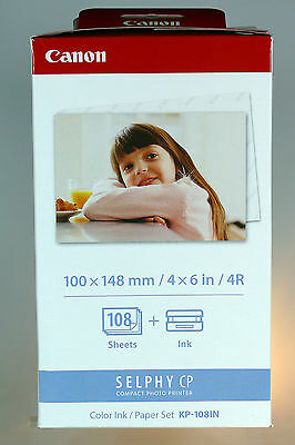 Canon Selphy  Color Ink / Papier Set KP-108 IN CP800 CP900 CP910 CP1200 CP1000