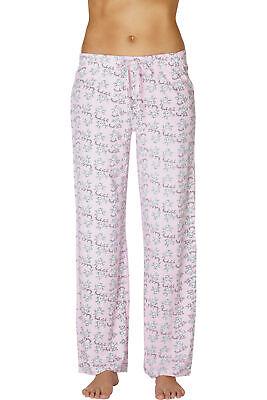 INTIMO Womens Ooh La La Poodle Printed Pajama Sleep Pants