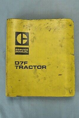 Vintage 1970 Caterpillar Service Manual D7f Tractor 0067