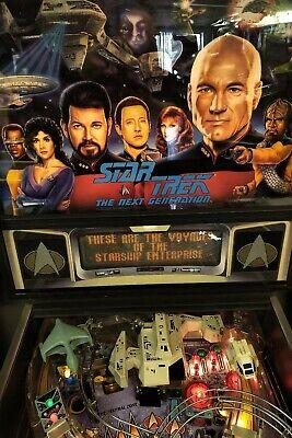 Williams Star Trek Next Generation Pinball Machine