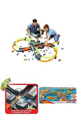 Colossal Crash Track Set Double Figure Eight Design Easy Fold Children Toy Fun
