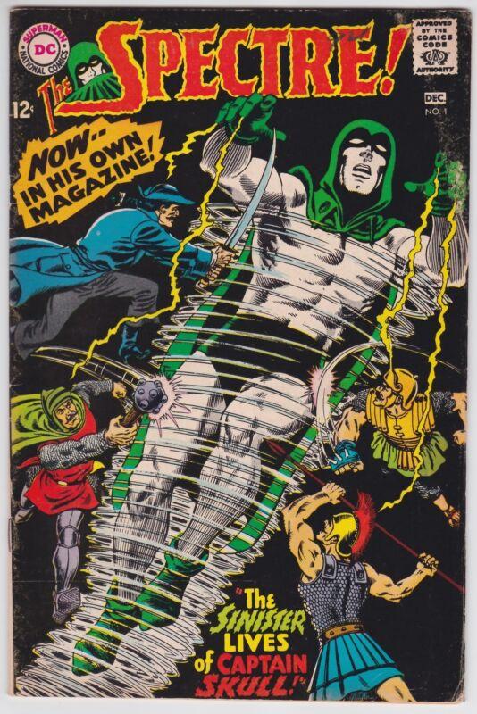 Spectre! #1 VG+ 4.5 First Issue Murphy Anderson Art 1967!