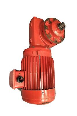 2hp 220v 1720rpm 1.5kw 60hz 3 Phase M003 7572 70a Worm Gear Motor