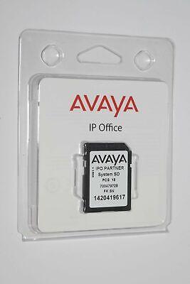 New Avaya Ipo Partner Card System Sd Pcs 18 700479728 Ip Office 9.1.0.0 437