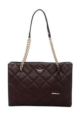 kate spade new york Emerson Place Small Phoebe Leather Tote Mahogany NWT $378