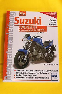 Suzuki SV 650/ S Modelljahre 1999-2008 Reparaturanleitung Handbuch