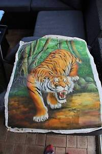 Hand painted Tiger Picture - unframed High Wycombe Kalamunda Area Preview