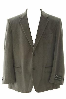 Grau Sport Coat Blazer (Carlo Palazzi Herren Grau Pfeil Muster Zwei Knöpfe Blazer Sportscoat Nwt)