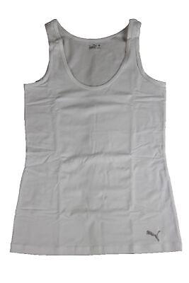 Puma Damen Tank Top (Puma Damen 2er Tank Top Oberteil Shirt Weiss White Tanktop)