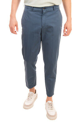 RRP €160 DEPARTMENT 5 Chino Trousers Size 34 Stretch Cropped Made in Italy