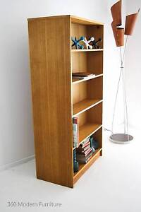 Mid Century Double Sided Bookcase Divider Shelves Vintage Retro Narre Warren Casey Area Preview