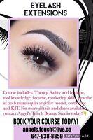 Eyelash Extensions Professional Training $400