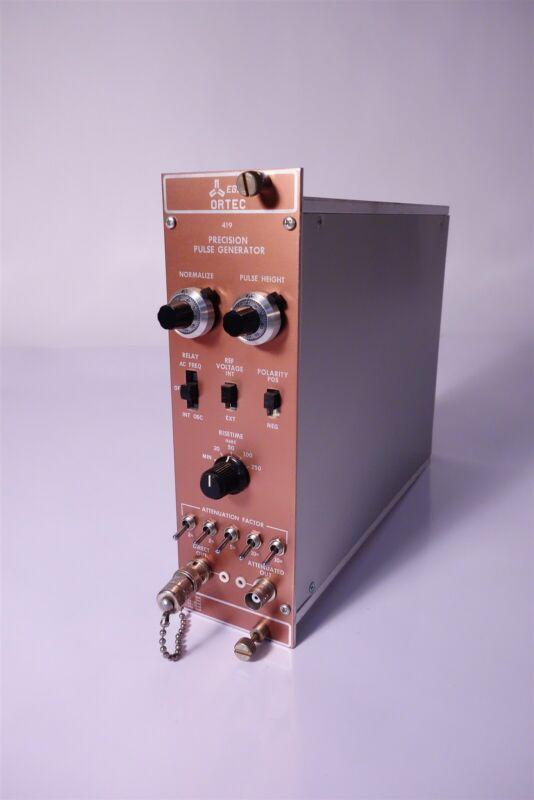 EG&G Ortec Model 419 Precision Pulse Generator NIM BIN Plugin 30 Day Warranty