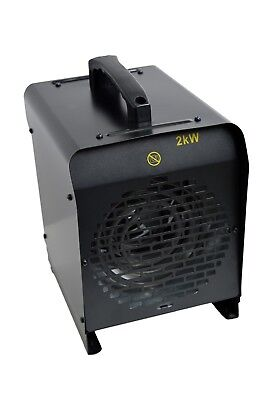 Bosmere 2kw Metal Greenhouse Heater Outdoor Heating IP24 Free Delivery