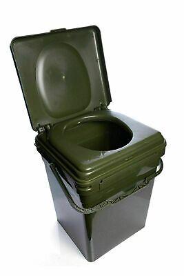 RidgeMonkey Cozee Toilet Seat + Modular Bucket XL - Full Kit NEW Carp Fishing